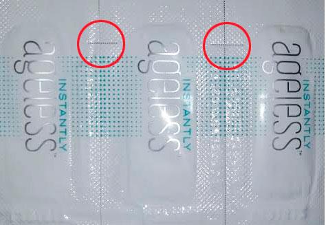 Упаковка Instantle Ageless образца 2017 года
