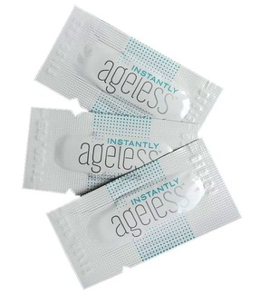 Sachets with Microcream Instantly Ageless by JeunesseGlobal (USA). You can use 1 sachet for 3-4 times